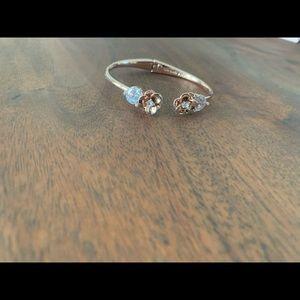 NWT Rose gold hinge cuff
